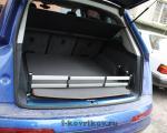 Ковер багажника с накидкой на задний бампер Audi Q7