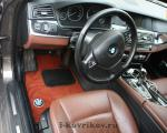 Коврики в салоне BMW-5 F10