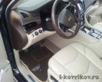 Коврики в салоне Cadillac Escalade new