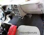 Коврики в салоне Chevrolet S-10