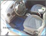 Коврики в салоне Chevrolet Spark