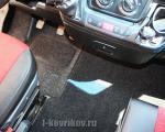Коврики в салоне Fiat Ducato