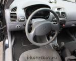 Hyundai Accent, передний водительский коврик