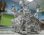 Столик из блока двигателя V6