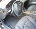 Коврики в салоне Mercedes E-class w211