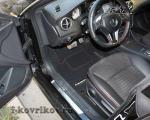 Коврики в салоне Mercedes CLA