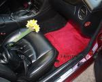 Коврики в салоне Mercedes CLS w219