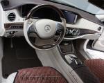 Коврики в салоне Mercedes-Benz w222 Maybach