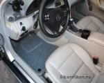 Коврики в салоне Mercedes C-class w203
