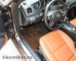 Коврики в салоне Mercedes C-class w204
