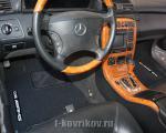 Коврики в салоне Mercedes CL w215