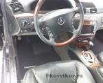 Коврики в салоне Mercedes S-class w220 4MATIC