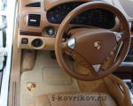 Коврики в салоне Porsche Cayenne 1