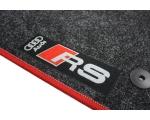 Пример вышивки Audi RS