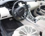 Коврики в салоне Range Rover Evoque