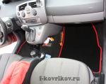 Коврики в салоне Renault Scenic 2