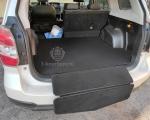 Ковер багажника с накидкой на задний бампер Subaru Forester