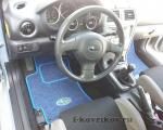 Коврики в салоне Subaru Impreza WRX