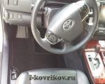 Коврики в салоне Toyota Camry v50