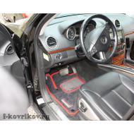 Коврики в салоне Mercedes GL X164