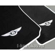 Вышивка логотипа Bentley