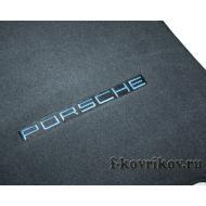 Пример вышивки Porsche